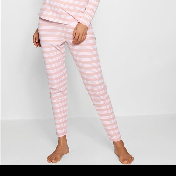 27ad10bc5d12a Maternity pajama set. Blush and white. Boohoo. M_5b7b7e02a5d7c67f03859850.  M_5b7b7e03de6f6244239a609f. M_5b8ef7d95098a04cc3c6038d